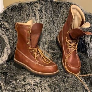 Work n sport boots men's size 7
